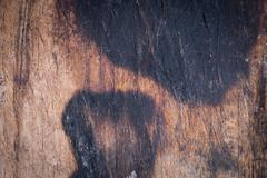 Wood board weathered with scratch texture background Stock Photos
