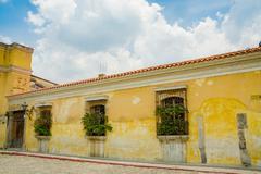 Antigua city in guatemala Stock Photos