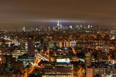 New York City Skyline View Stock Photos