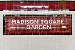 34th Street Penn Station Subway Stop - NYC - stock photo