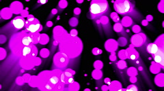 Violet glamour background with particles - stock footage