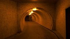 Underpass tunnel.4K. Stock Footage