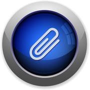 Stock Illustration of Attachment button