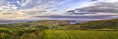 HDR Panorama - South - Isle of Man Stock Photos