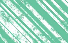 Retro Vintage Background - Scratched White Lines with Different Width on Gree - stock illustration