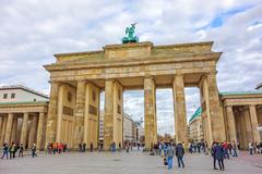 Stock Photo of Brandenburg Gate, Berlin