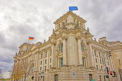 Stock Photo of Reichstag building, Berlin