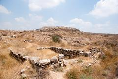 Archaeology excavations in Israel Stock Photos