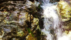 Waterfalls in Cyprus Stock Footage