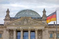 Stock Photo of Reichstag building, Berlin, Germany