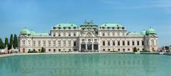Stock Photo of Belvedere Castle park - Vienna