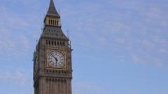 London Close Up Big Ben UHD Stock Footage