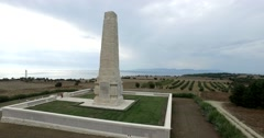 Canakkale Helles Memorial Stock Footage