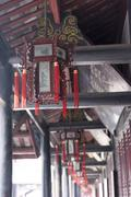 Stock Photo of Chinese Temple Deco