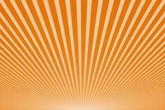 Sunbeams, abstract background Stock Illustration