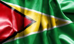 Guyana Flag Stock Illustration