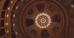 Flying inside the Opera house Stock Footage