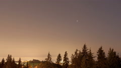 4K Timelapse Vancouver park view Stock Footage