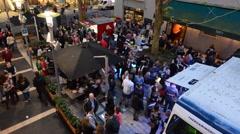 Artweek Auckland event in Auckland New Zealand Stock Footage