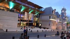 Auckland Art Gallery Toi o Tamaki in Auckland New Zealand Stock Footage