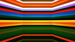 Broadcast Twinkling Horizontal Hi-Tech Bars Shaft, Multi Color, Abstract,Loop,HD Stock Footage