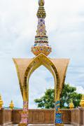 Wat Phra That Pha Son Kaew, PETCHRABOON province, THAILAND - stock photo