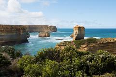 The Razorback, Great Ocean Road, Southern Victoria, Australia - stock photo
