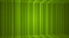 Broadcast Vertical Hi-Tech Lines Passage, Green, Abstract, Loopable, HD Stock Footage