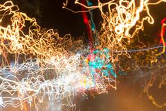 Light Dazzle Vortex UFA 2015 #1 Stock Illustration