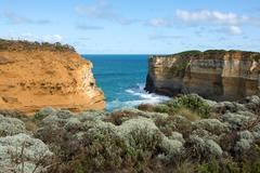 Southern Victoria Coastline, Australia - stock photo