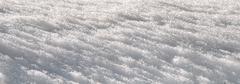 icy snow - stock photo