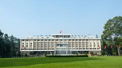 Independence Palace, Ho Chi Minh City - stock photo