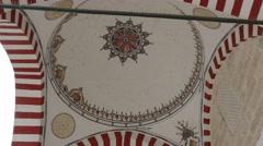 Edirne's,Turkey. Bayezid II Mosque Health Museum. Stock Footage