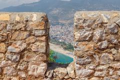 Stock Photo of Alanya Castle