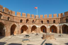 Alanya Red Tower Stock Photos