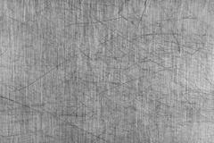 Grey Scratched Aluminium Table Board Stock Photos
