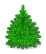 Furry  Tree. - stock illustration