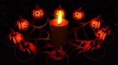 Halloween Party 4K Vj Loop  6 - stock footage