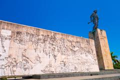 SANTA CLARA, CUBA - SEPTEMBER 08, 2015: The Che Guevara Mausoleum in Santa Clara - stock photo