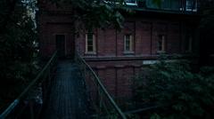 Abandoned spooky house Arkistovideo