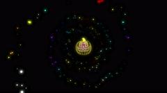 Halloween Jack Lantern 4K Vj Loop 22 Stock Footage