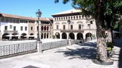 Spanish Village view, Barcelona Stock Footage