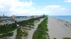 Miami Beach vacation destination Stock Footage