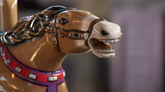 Carousel Horse Stock Footage