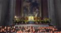 4k Baroque dome cathedral prayer candles Salzburg Austria 4k or 4k+ Resolution