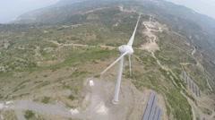 Wind Turbine 2 Stock Footage