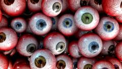 Halloween Eye Balls Stock Footage