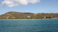 Stock Video Footage of Culebra shoreline