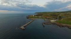 Kangaroo Island ferry terminal Cape Jervis SA Tourism Stock Footage