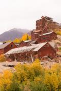 Stock Photo of Wrangell St Elias Kennecott Mines Concentration Mill Alaska Wilds